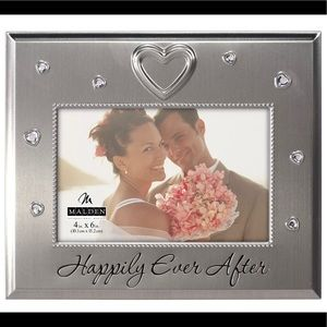 Nib Happily Ever After Wedding framed Jeweled